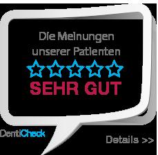 Empfehlungssiegel Denticheck