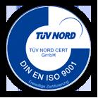 Zertifizierung TÜF Nord