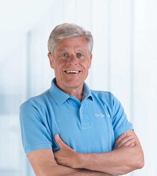 Unser Zahnarzt Team - Dr. Dr. Peter Schmid