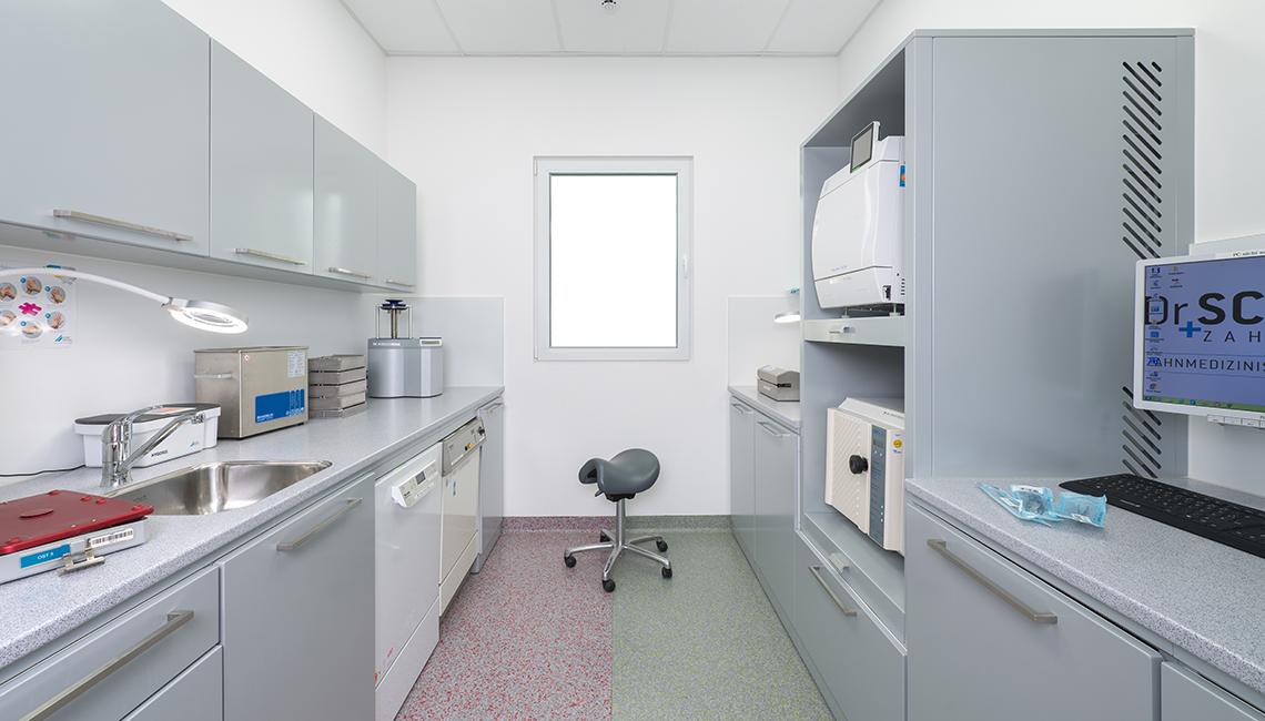 Sterilraum Zahnheilkunde Neu-Anspach