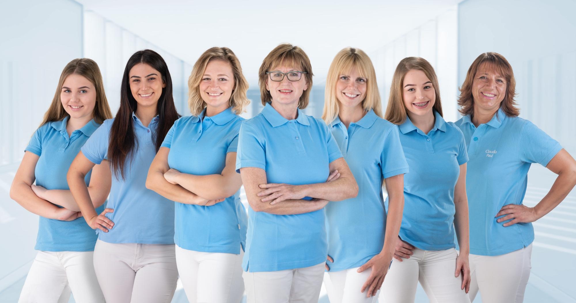 Das Team der Kieferorthopädie für Kinder und Erwachsene