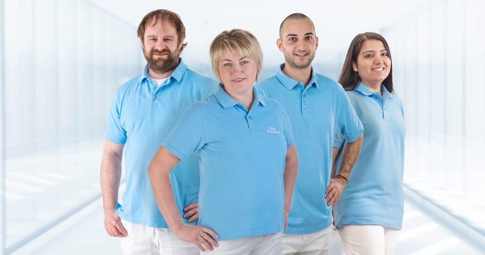 Das Team des Dentallabor der Dr. Schmid Zahnärzte - Zahnimplantate in Perfektion